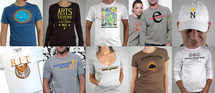 Custom T-Shirts Traverse City, Michigan
