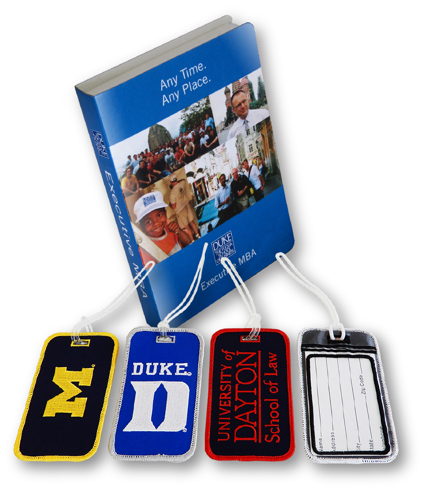 Swag Ideas for College Students Luggage Tags